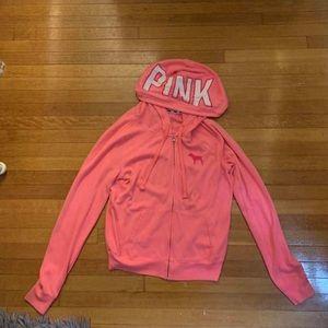 Pink Zip-Up
